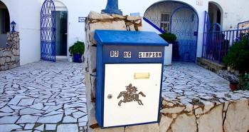 domicile home domicyl postbox in Portugal
